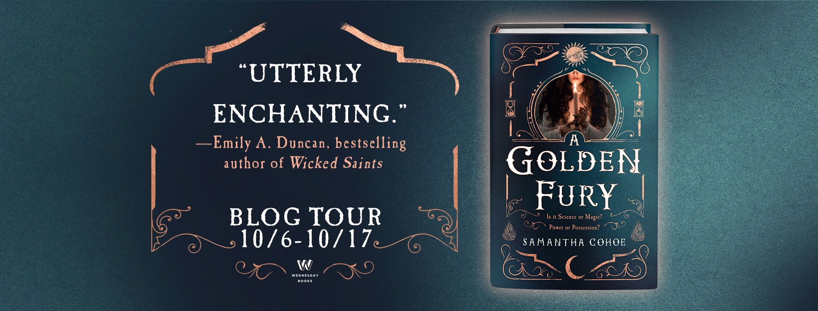 A Golden Fury_Blog Tour Banner
